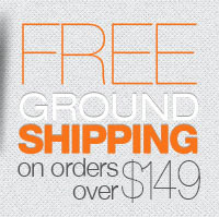FREE Ground Shipping on orders over $149